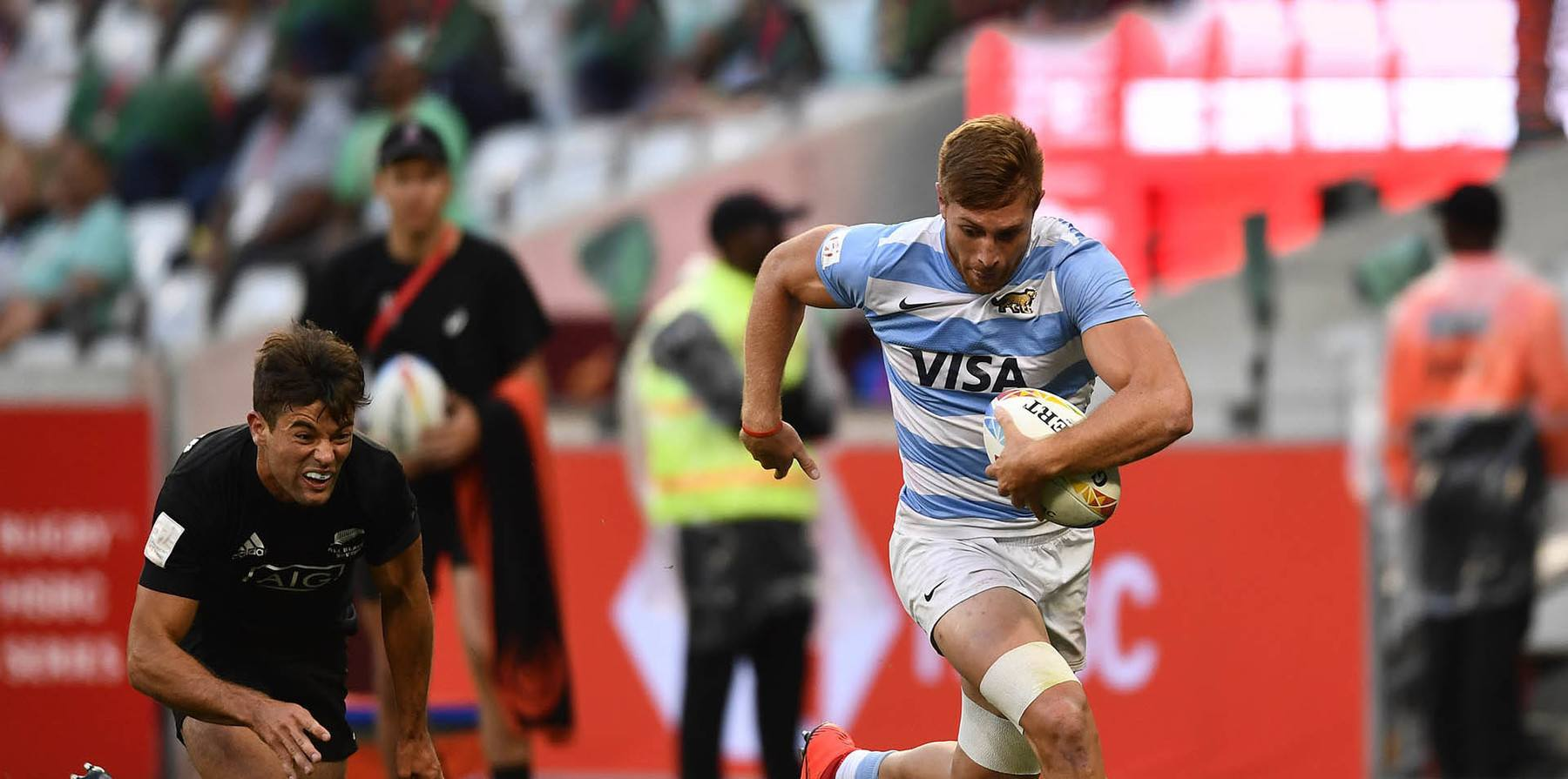 Argentina v New Zealand at Cape Town Sevens 2019