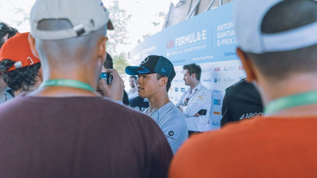 Fifty Digital in Chile at the Formula-E