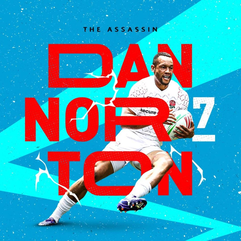 HSBC Sevens Series creative of Dan Norton