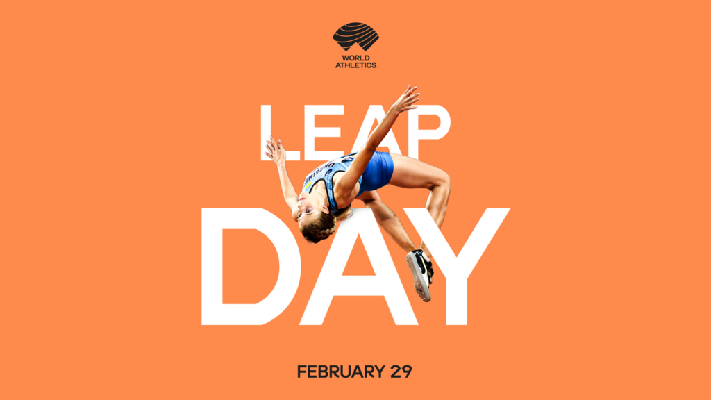 World Athletics creative for Leap Day