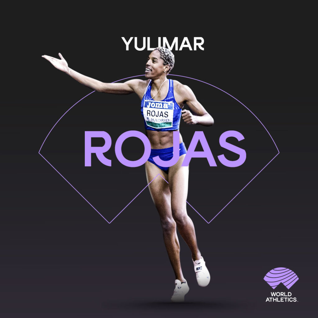 World Athletics creative featuring Yulimar Rojas