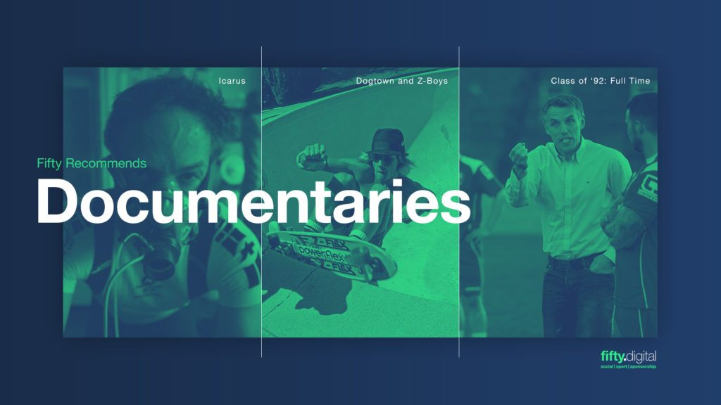 Fifty Digital Recommends Documentaries