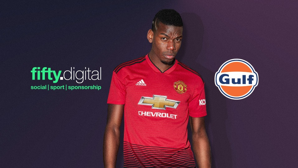 Gulf Oil and Fifty Digital and Paul Pogba