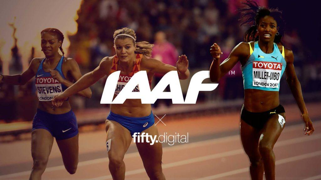 World Athletics x Fifty Digital
