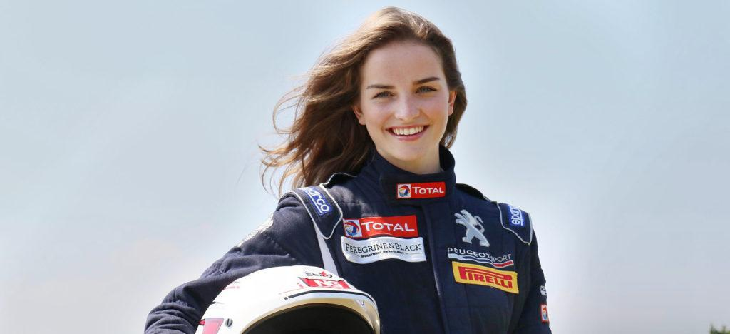 Catie Munnings rally driver