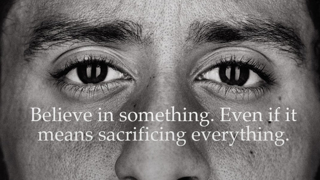 Colin Kaepernick's Nike Advert