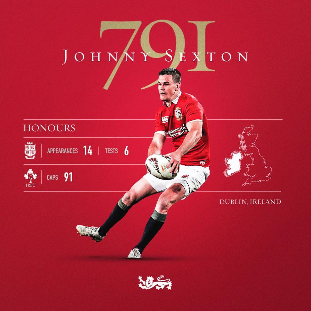 Johnny Sexton Stat Graphic