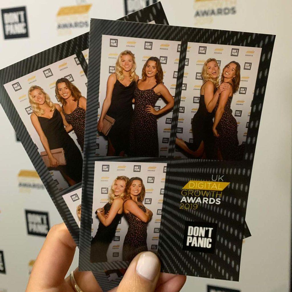 Maddie and Gemma at the UK Digital Growth Awards 2019