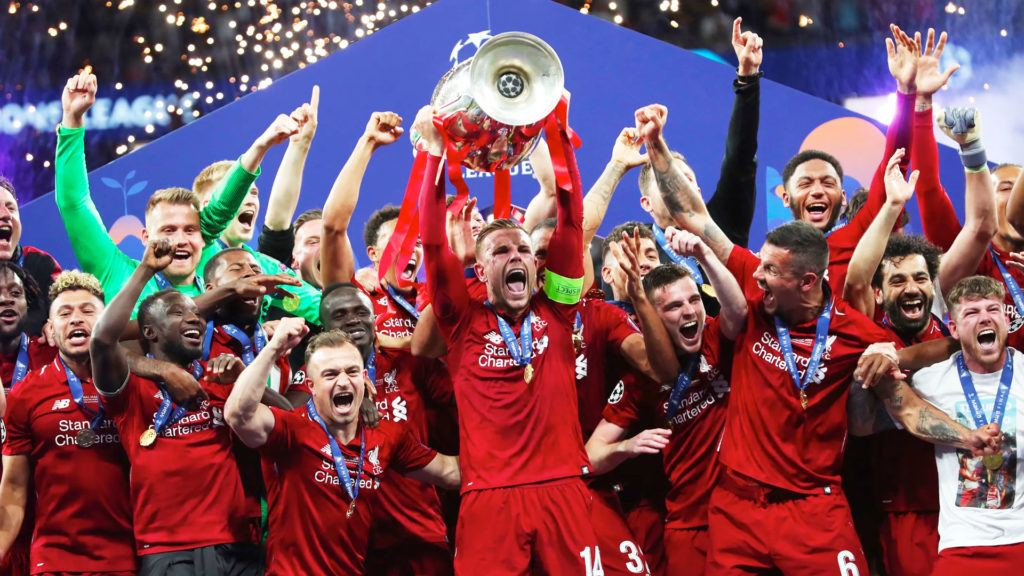 Liverpool Champions League winners 2019