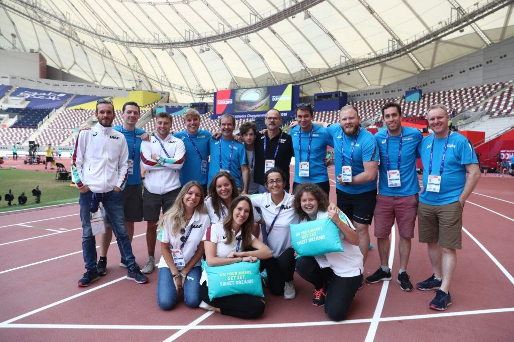 Fifty Digital team in Doha 2019