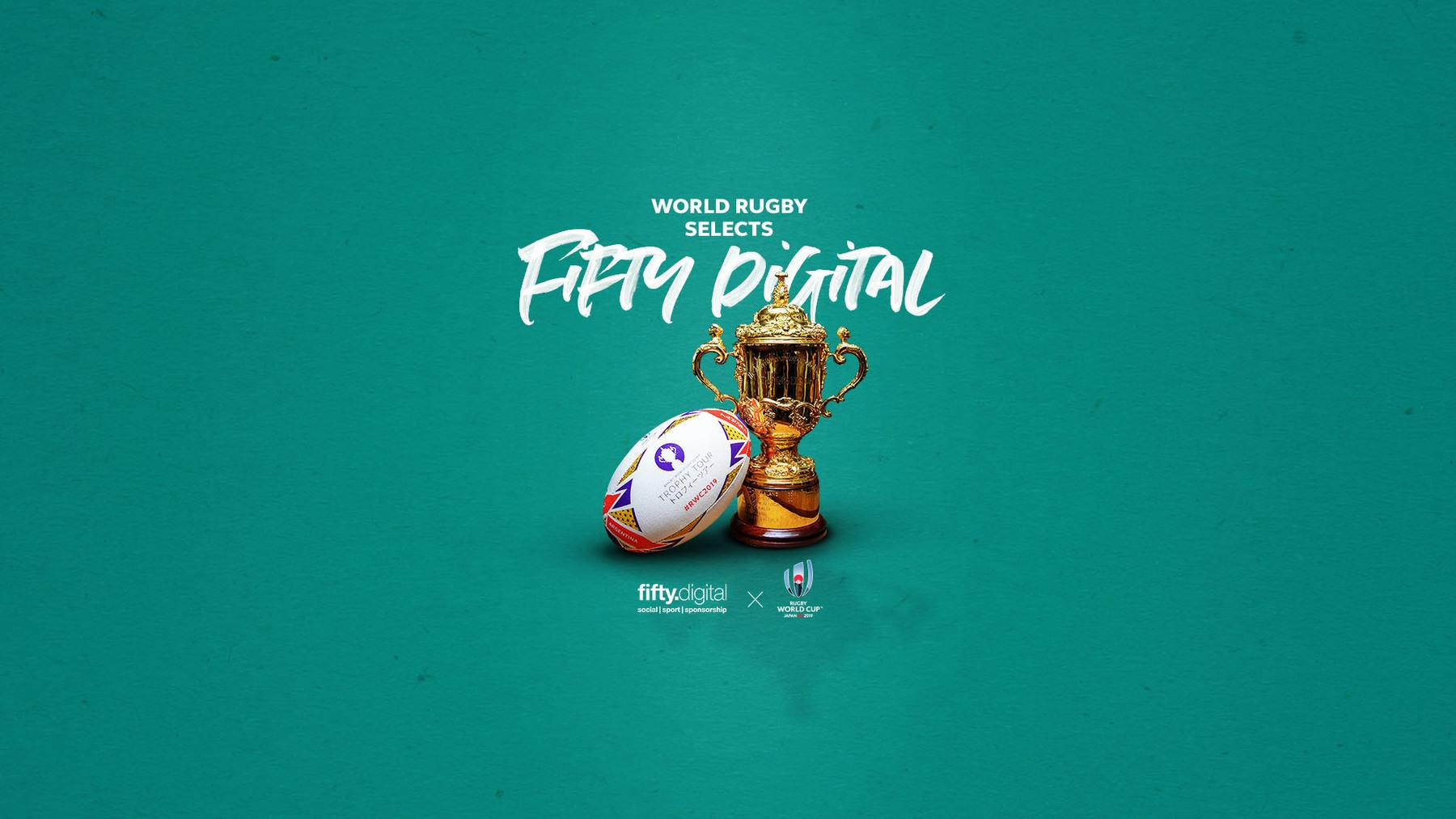 World Rugby selects Fifty Digital