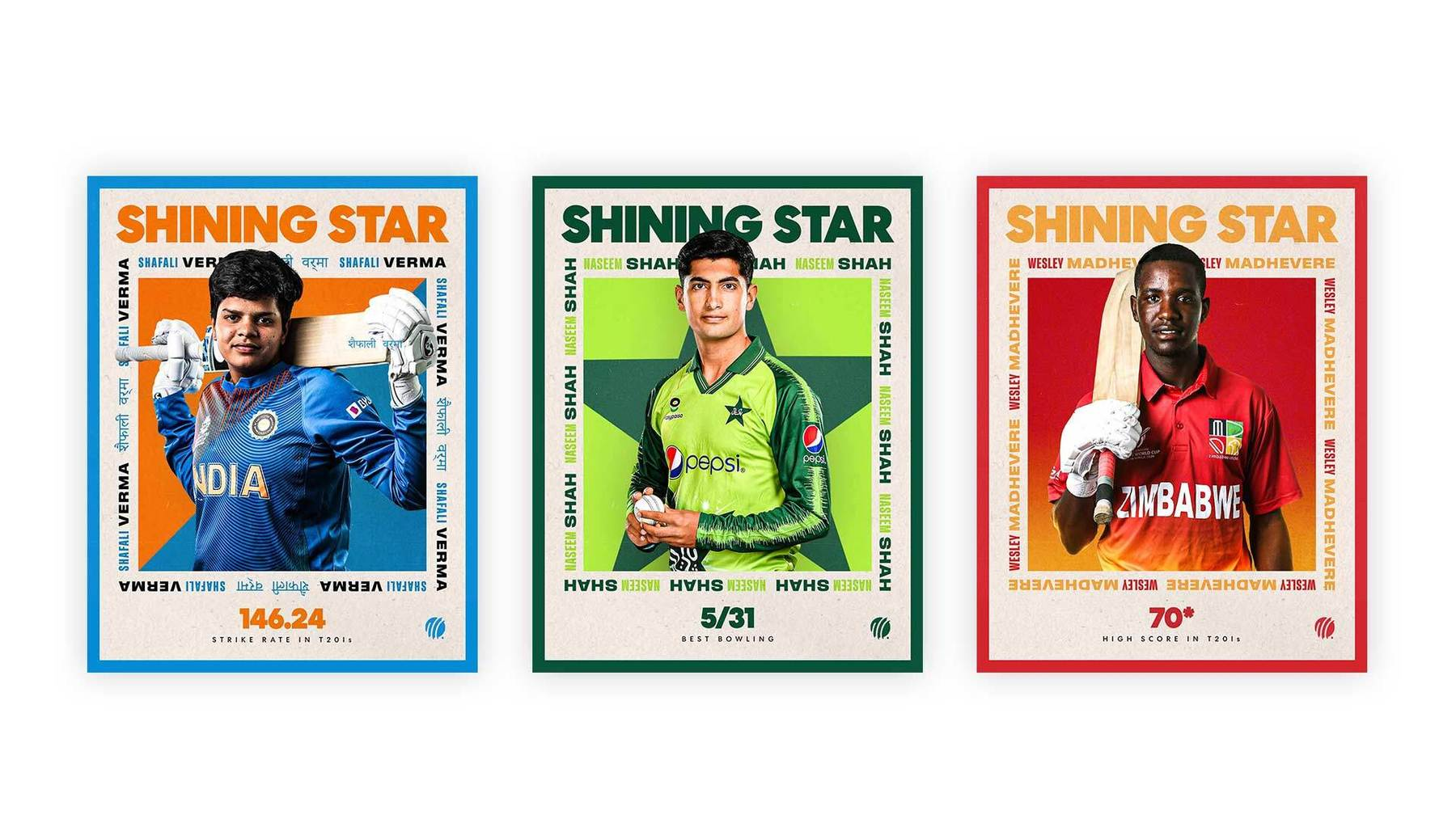 ICC Player Cards